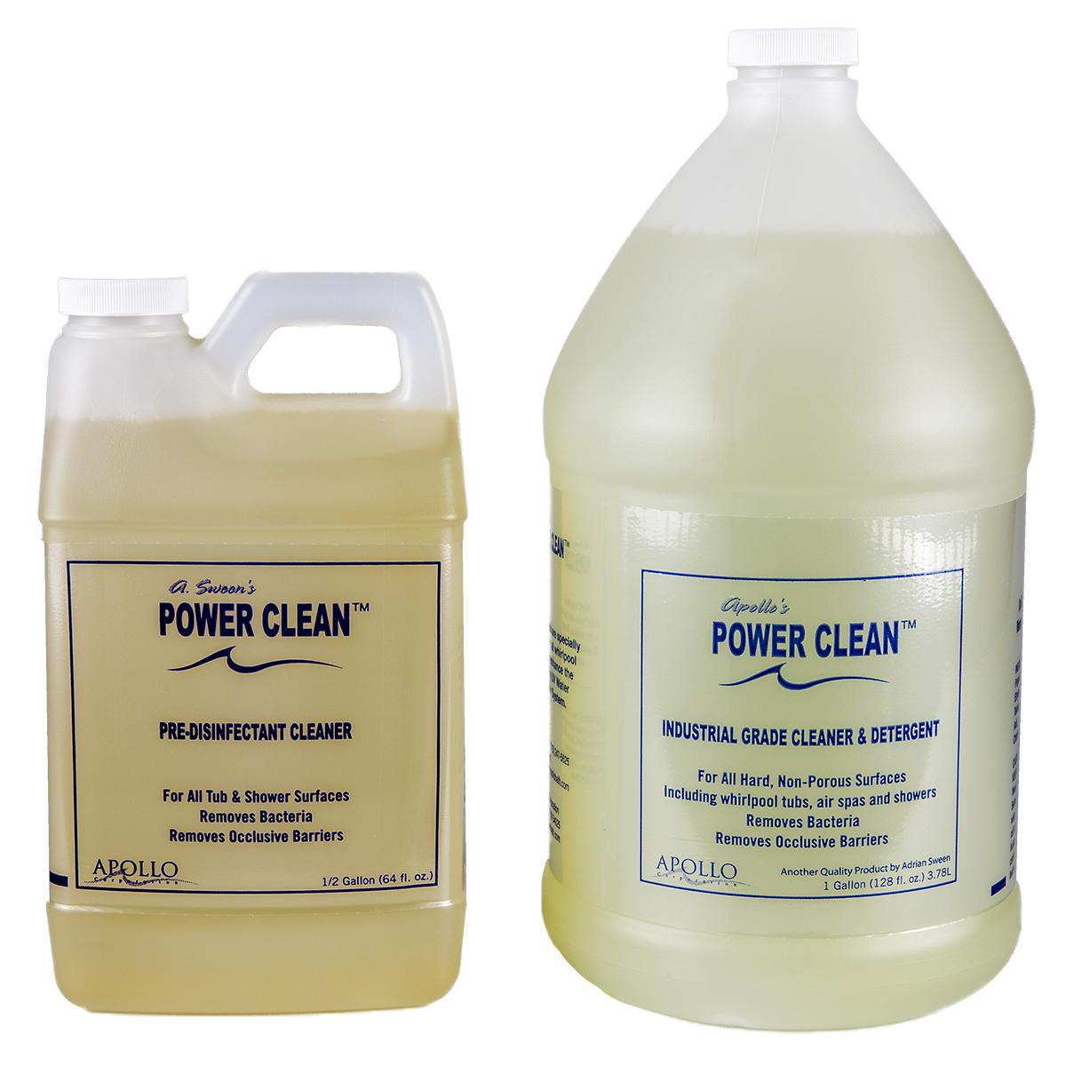 Power Clean™ Pre-Disinfectant Detergent - Apollobath.com